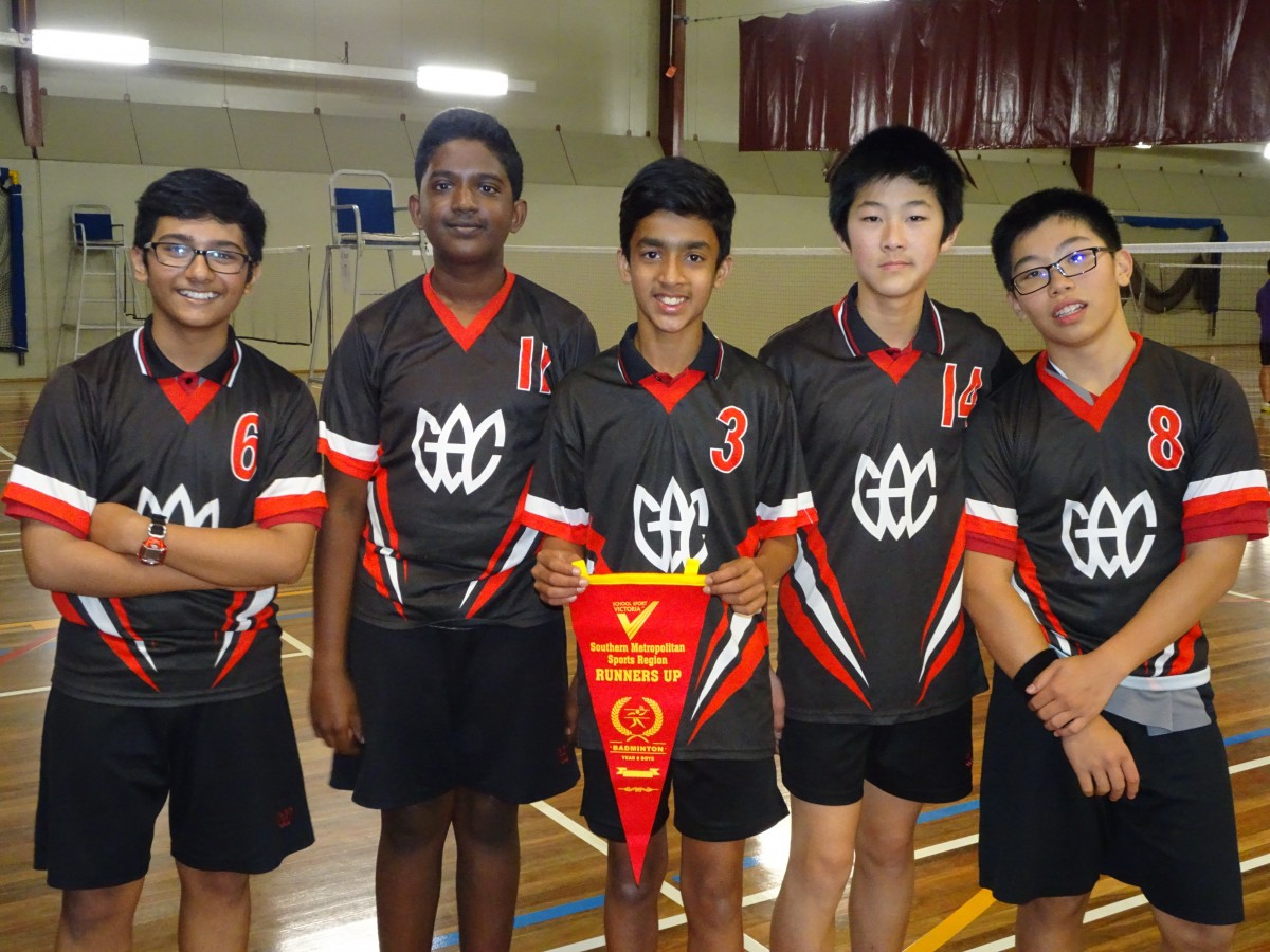 SMR 8 Badminton Boys