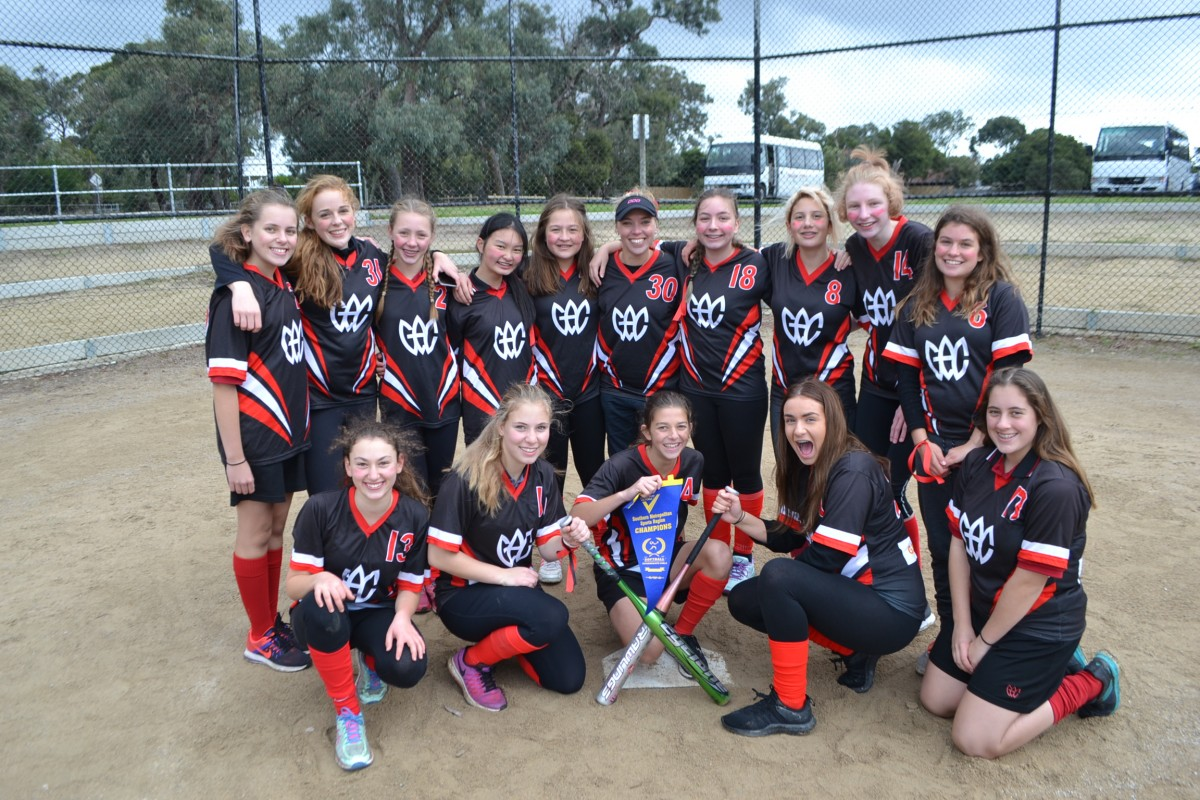 Intermediate Softball Champions
