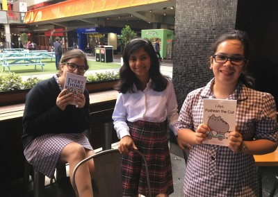 The Book Club Book-Buying Excursion