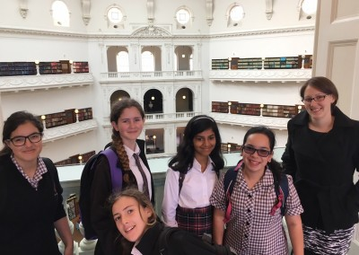 The Book Club visiting the State Library