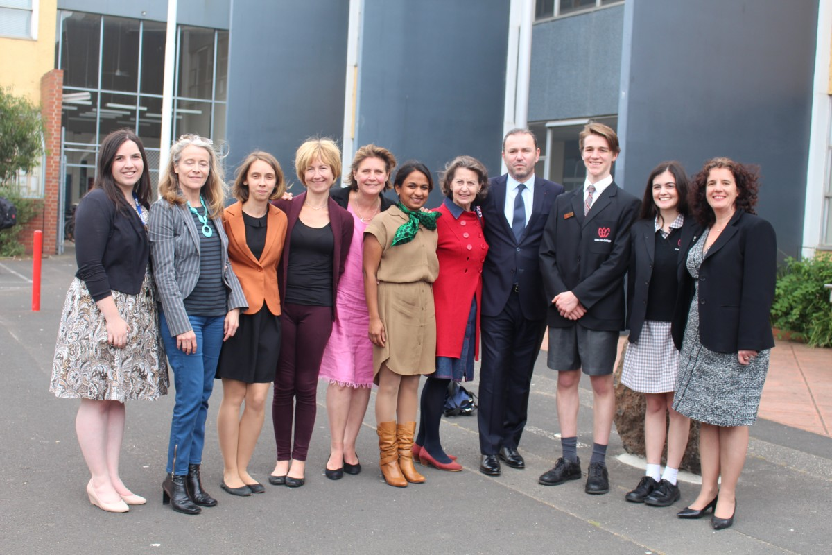 French Teachers with H.E. Mr. Christophe Lecourtier, Ambassador of France to Australia
