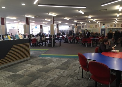 The Library at lunchtime