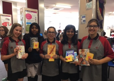 Year 7 book lovers!