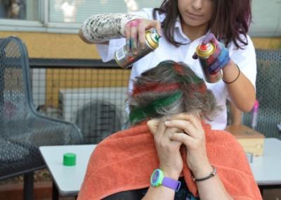 Funky Hair Fund Raising Day