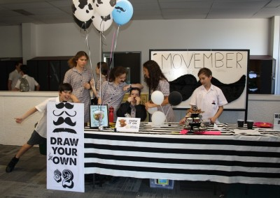 Movember fund raising