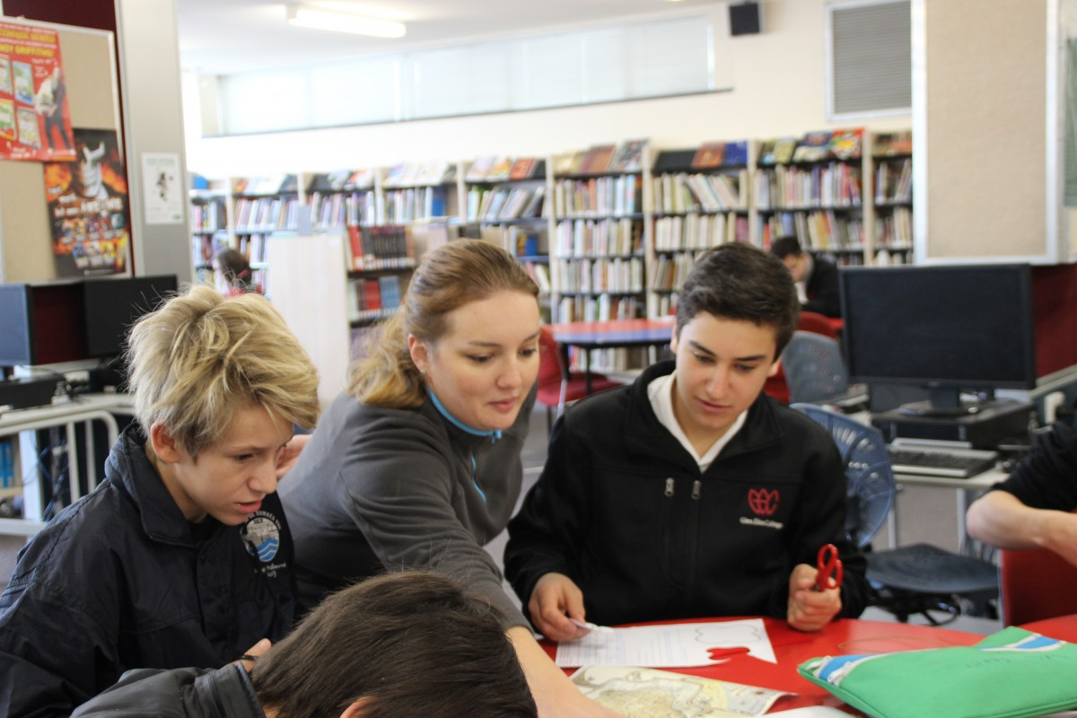 "Visit of the school ""Dumbéa sur Mer"" at Glen Eira College"